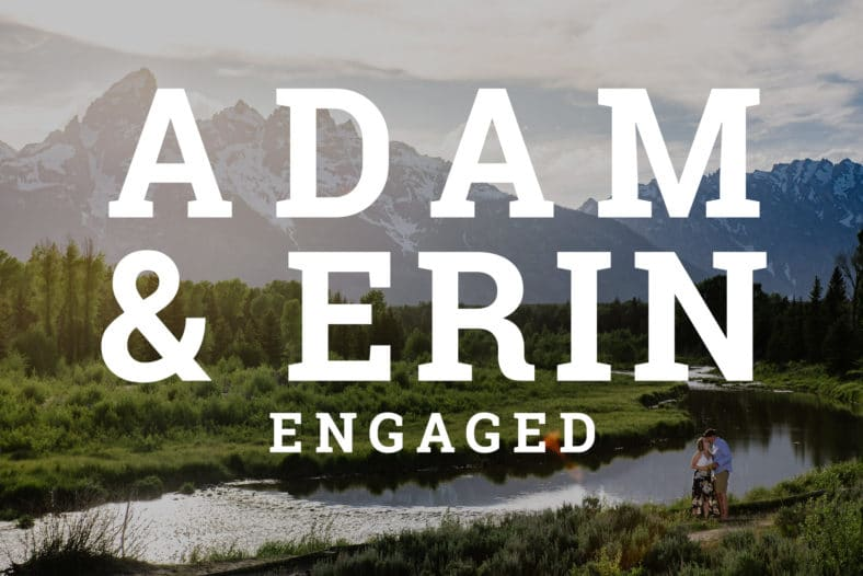 Couples engagement portraits in Jackson Hole Wyoming